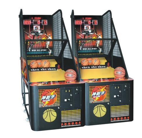 Arcade Basketball Shooting Machine