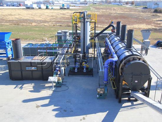 Beston Plastic To Diesel Plant