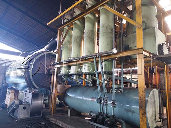 Waste Tire Recycling Plant In Indonesia