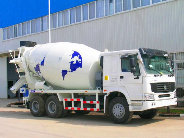 14m3 concrete mixer truck