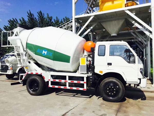 6m3 small concrete mixer truck