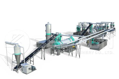 Sawdust to Charcoal Machine