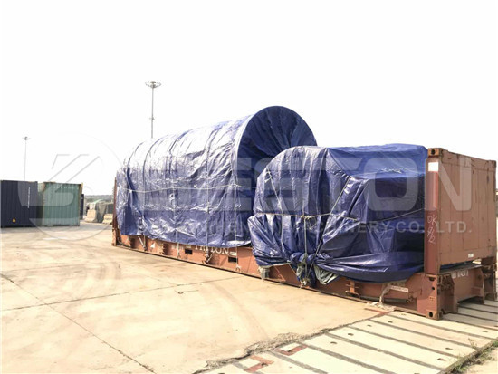 Tyre Recycling Machine to South Africa